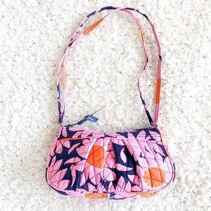 Vera Bradley Pink Floral Crossbody Bag NWOT